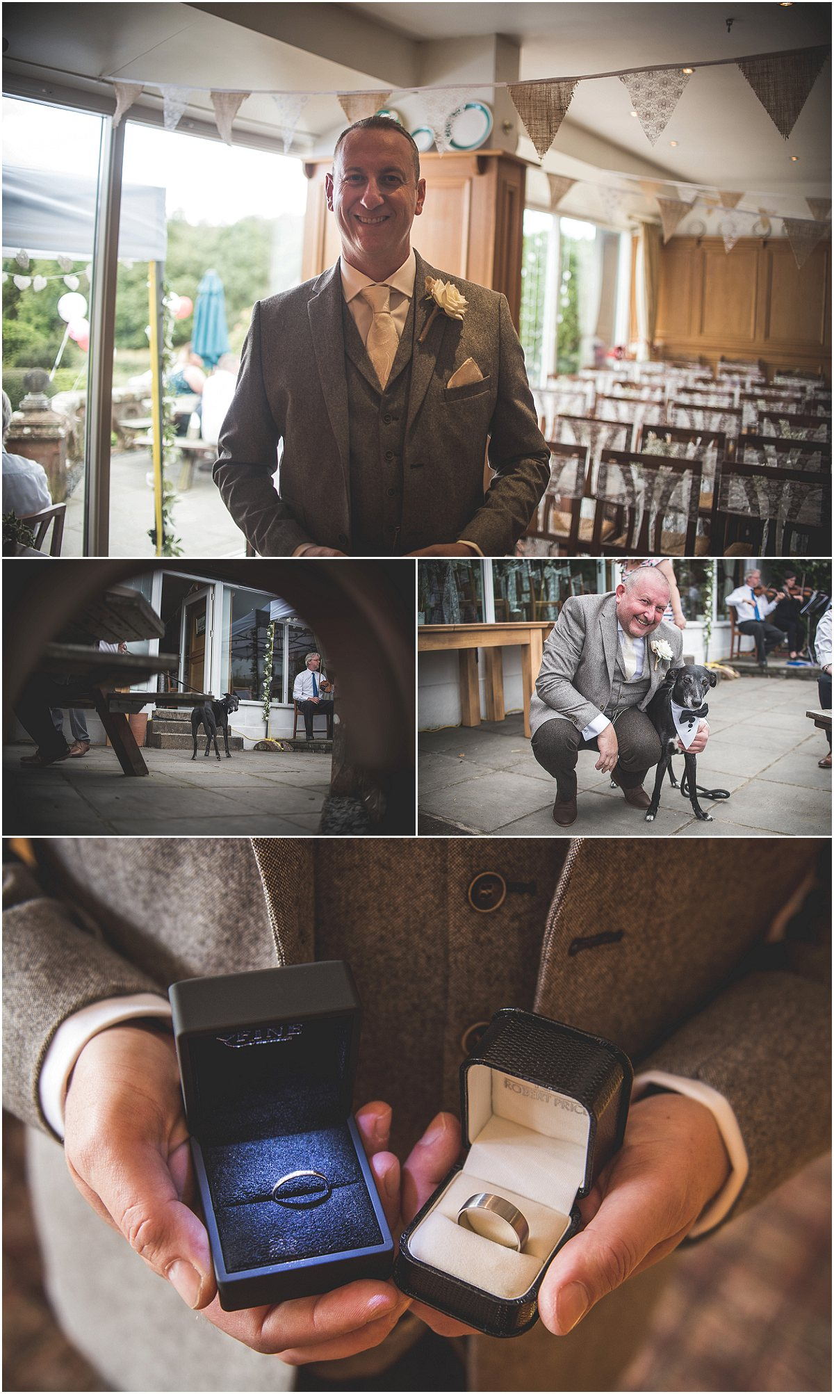 Best man at Low Wood Hall Hotel, Wast Water Wedding Photography
