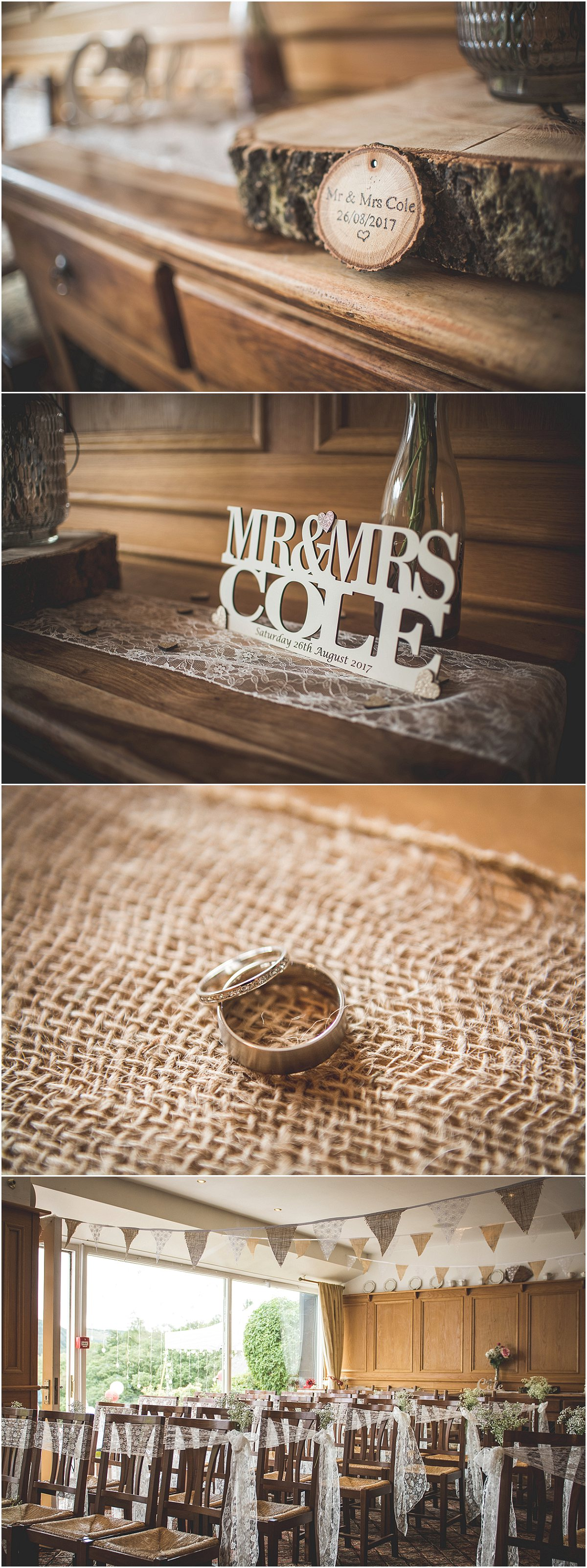 Wedding rings at Low Wood Hall Hotel, Wast Water Wedding Photography