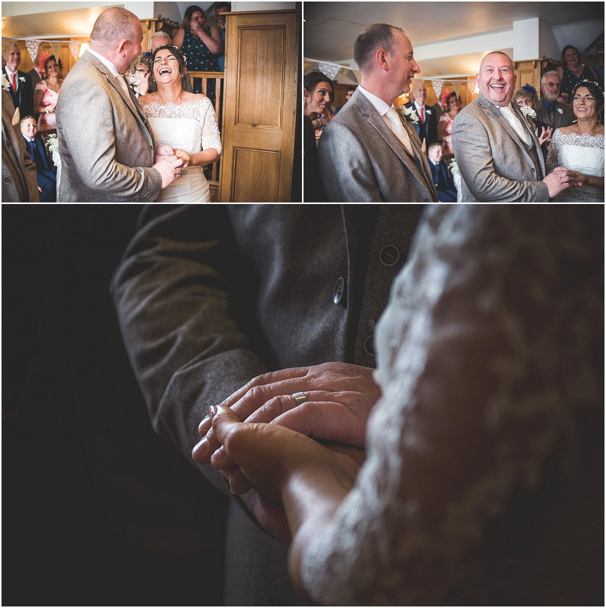 Wedding Ceremony at Low Wood Hall Hotel, Wast Water Wedding Photography