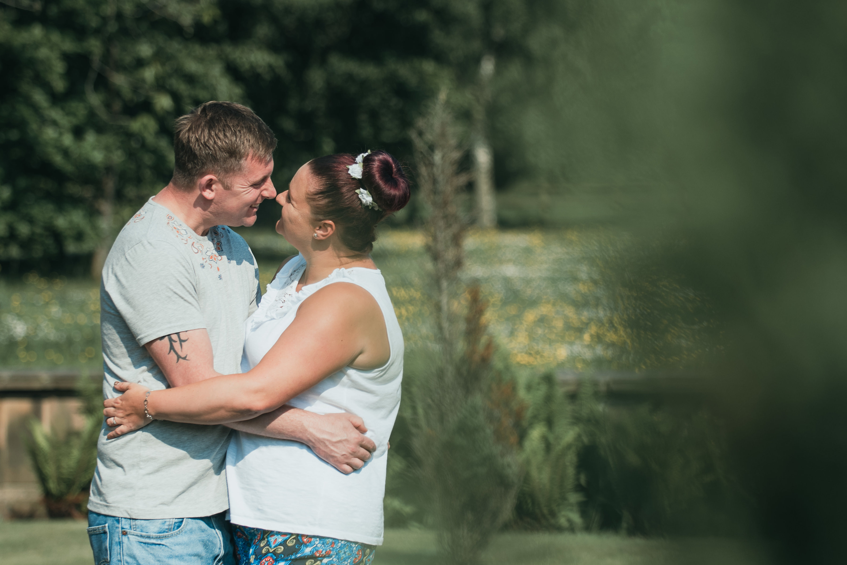 Worden Park Pre-Wedding Shoot | Nicola & Nick