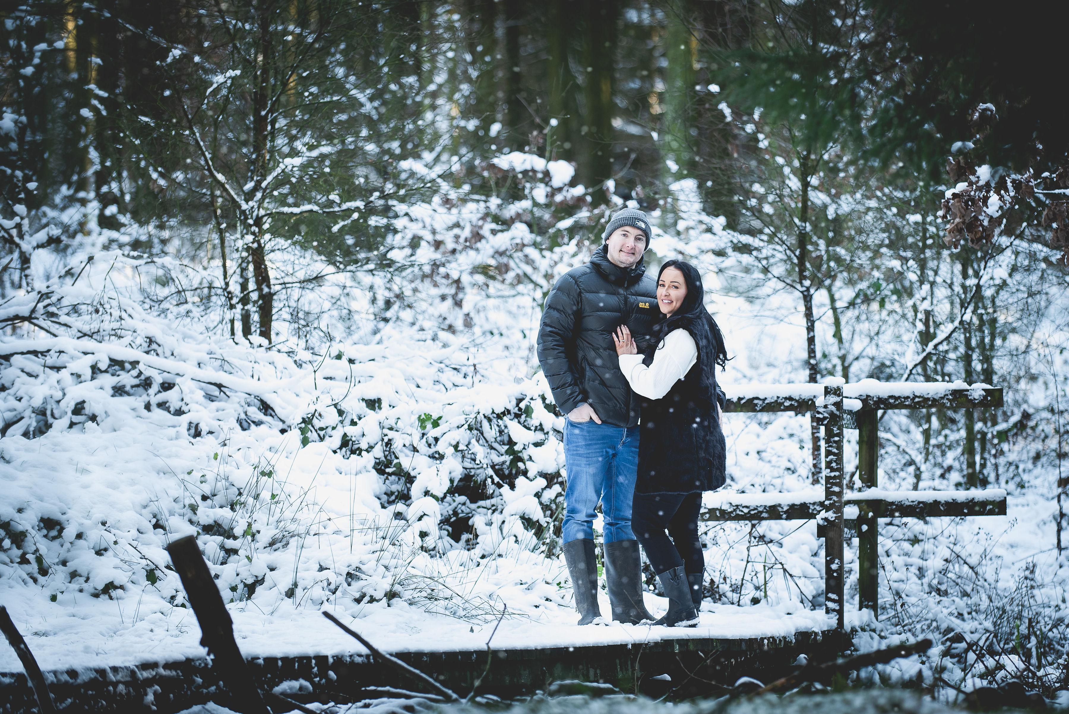 Beacon Fell Pre-Wedding Shoot | Kirsty & James