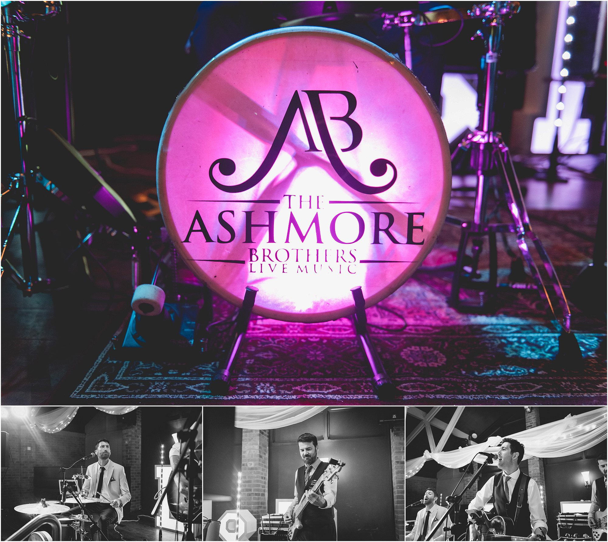 The ashmore brothers live band